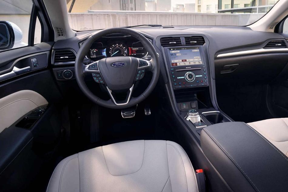 Conoce el nuevo Ford Fusion 2018, con más carga tecnológica