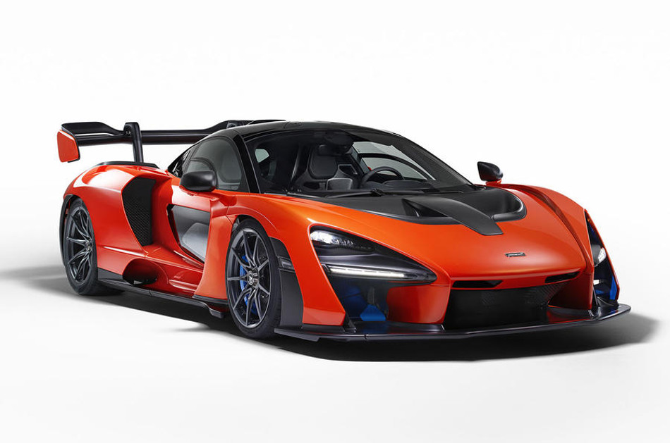 McLaren presenta el modelo Senna