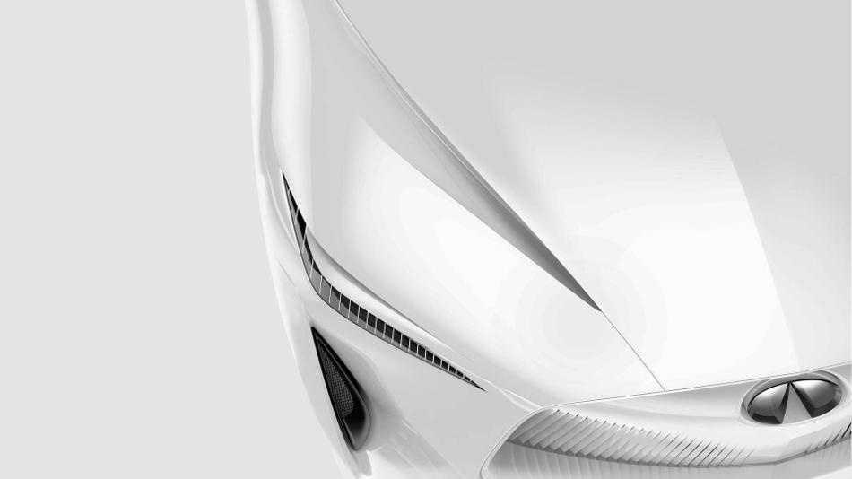 El Infiniti Q Inspiration Sedan Concept 2018