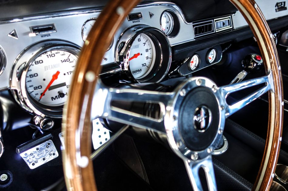 Un conocido del cine, el Ford Mustang Fastback Eleanor reaparece