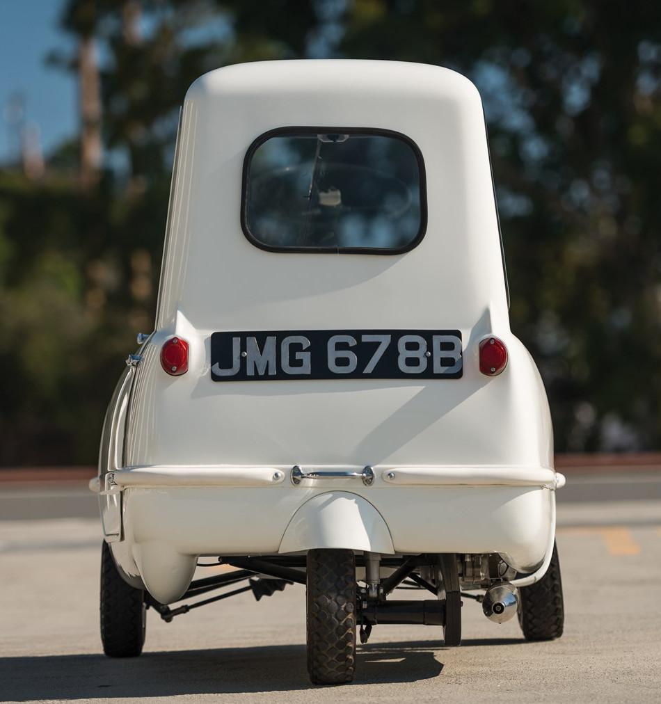 El Peel P50, el auto más pequeño jamás fabricado