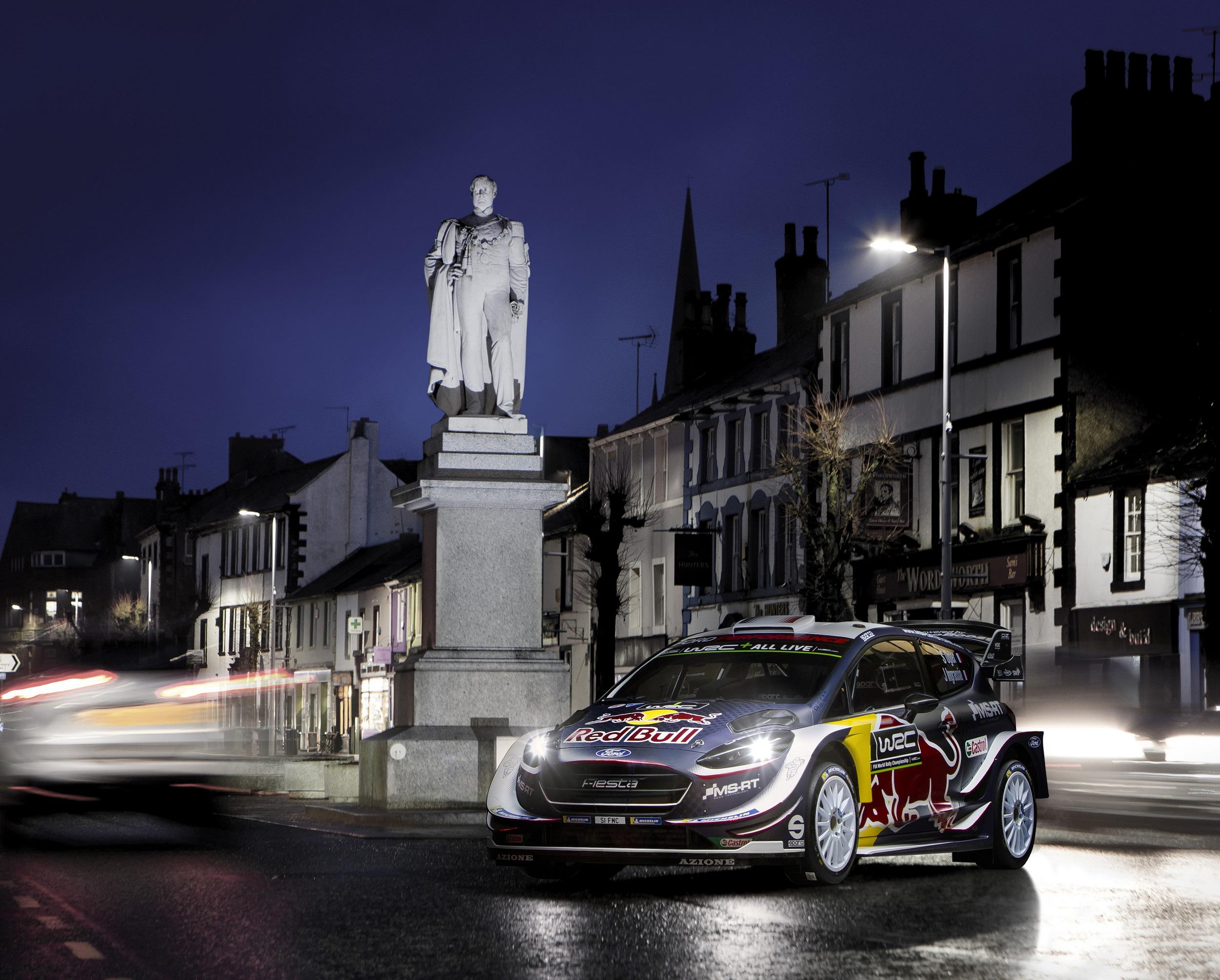 Ford renueva su compromiso con M Sport para el WRC 2018