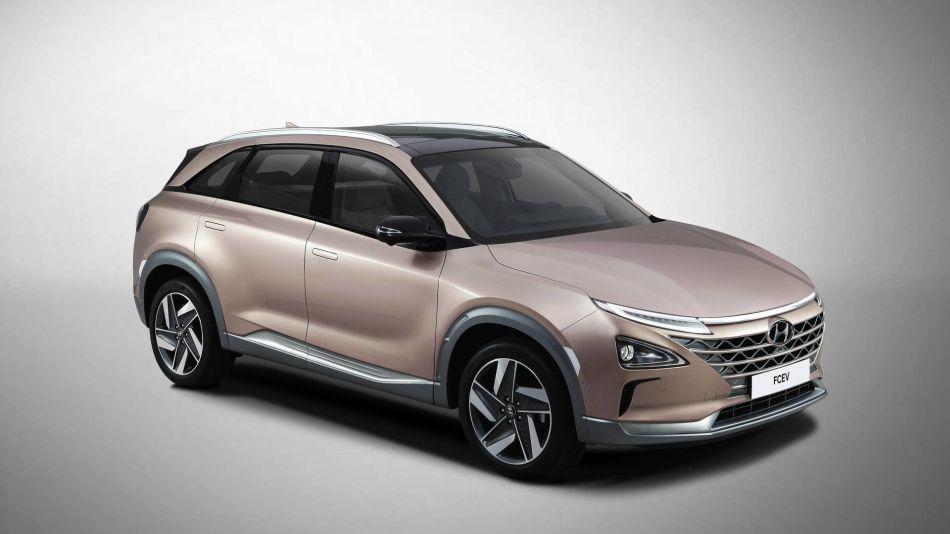 Nexo, el nuevo SUV de Hyundai impulsado por hidrogeno