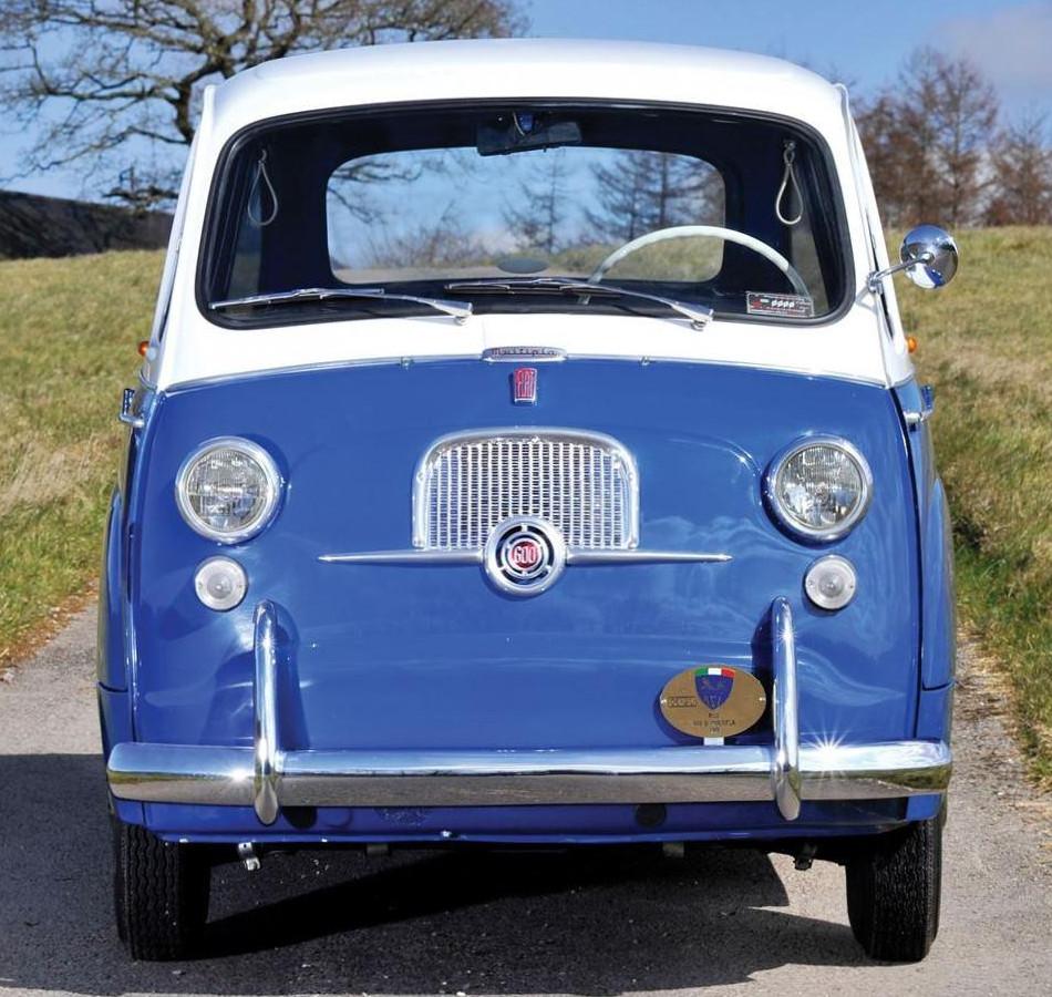 Un vehículo italiano conocido por pocos, El Fiat 600 Múltipla 1956
