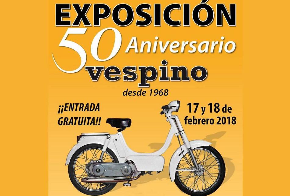 Vespino cuenta sus 50 años de vida