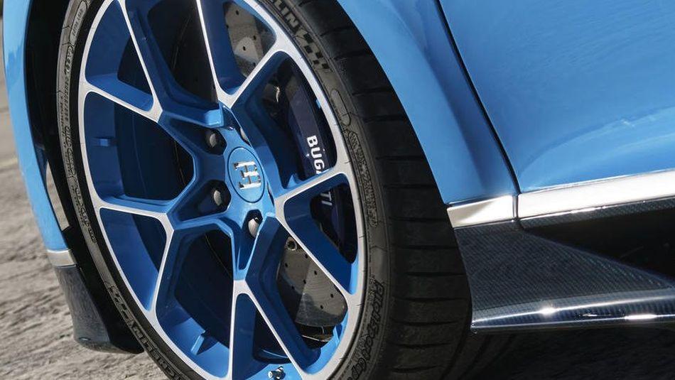 Bugatti presenta los primeros frenos de titanio impresos en 3D