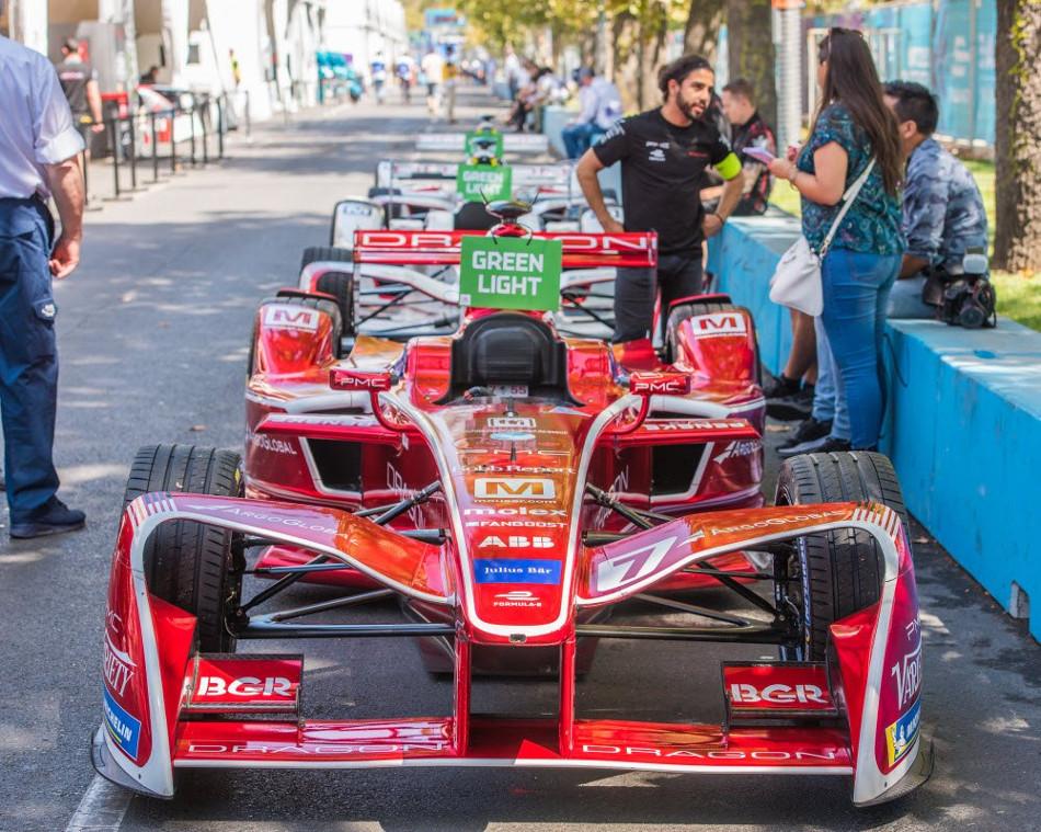 Fórmula E: Calificación al Eprix de Santiago de Chile