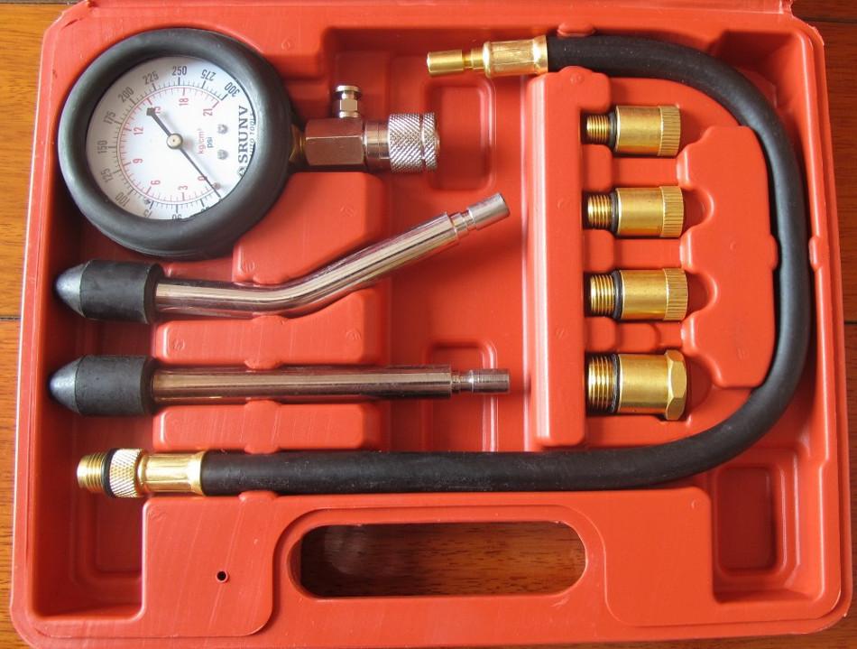 Pasos para medir la compresión de un coche
