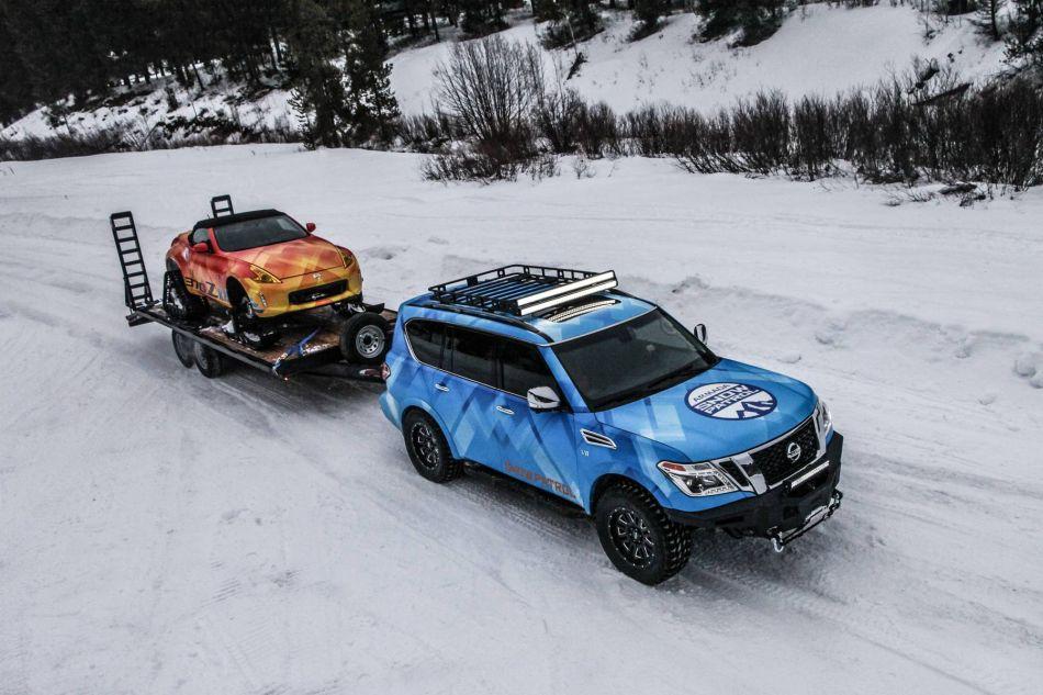 La nueva Nissan Armada Snow Patrol Concept lista para el salón de Chicago