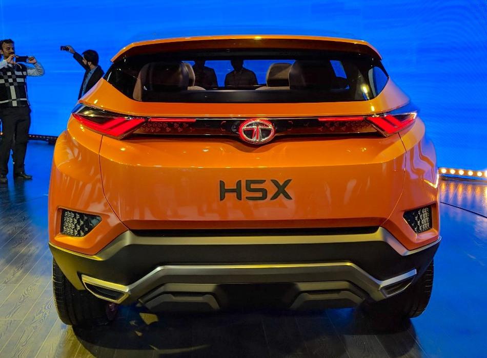 Nuevo Tata H5X Concept 2018, fusionado con Jaguar y Land Rover