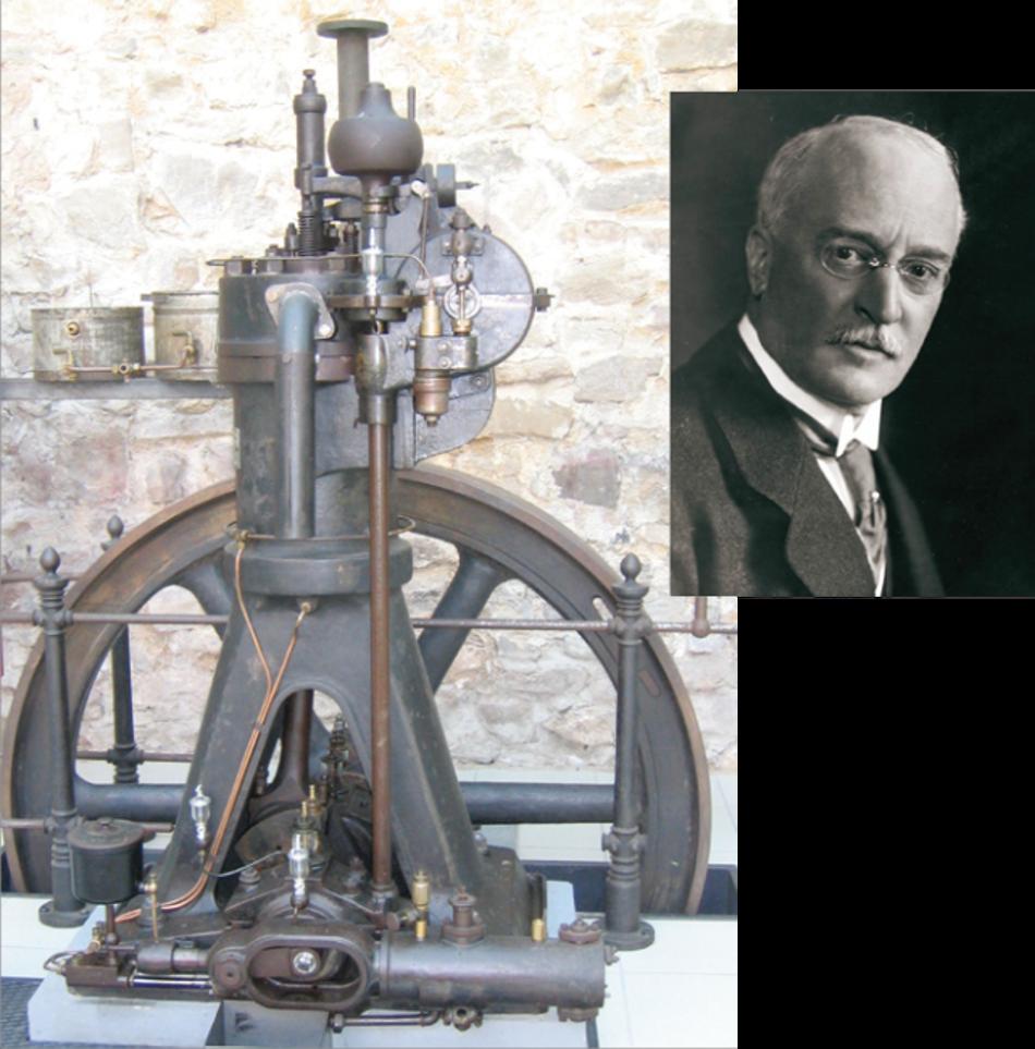 El primer motor a diésel y su inventor