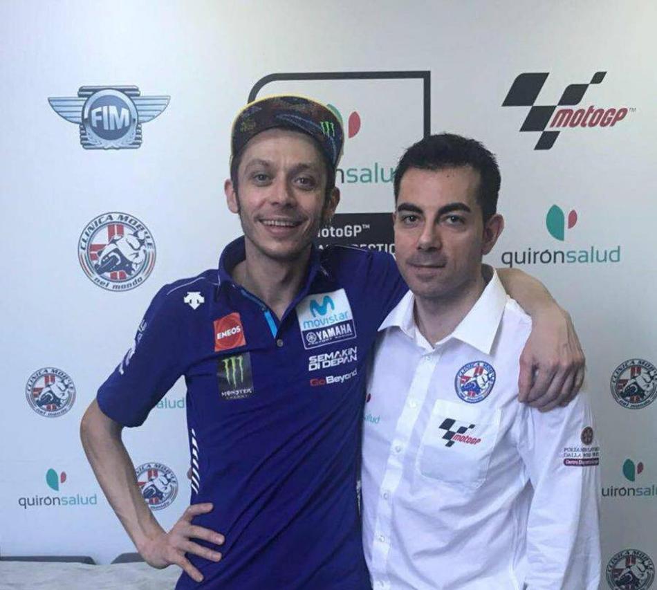 Michele Zasa y el secreto de la recuperación de Valentino Rossi