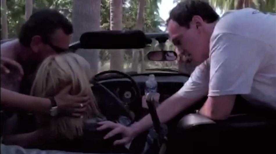 El accidente de la actriz Uma Thurman en un Volkswagen Karmann Ghia