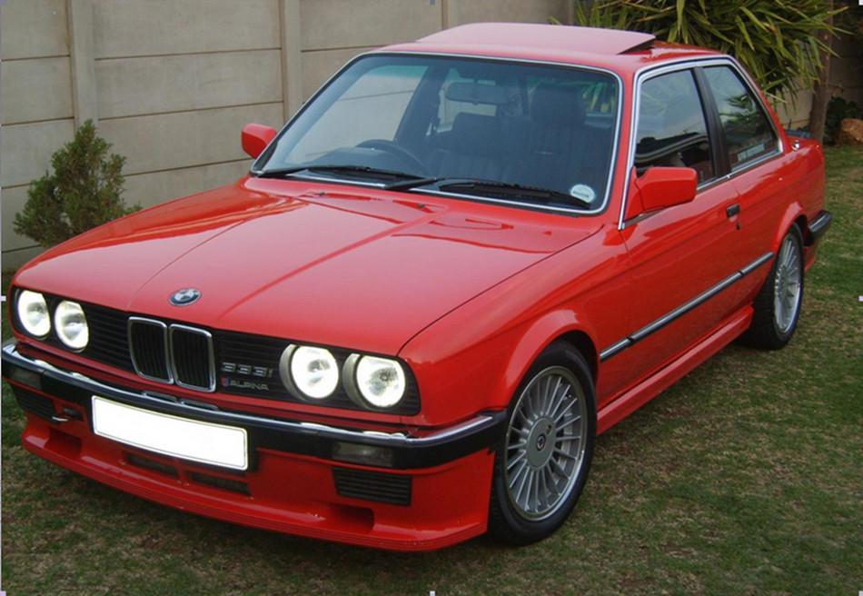 La interesante historia del BMW 333i E30 Edicion limitada