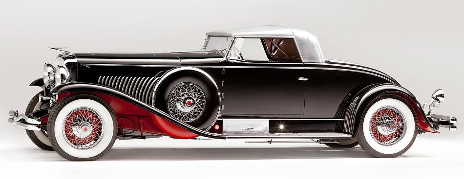Duesenberg Modelo J, un auto de lujo desde 1928 hasta 1937
