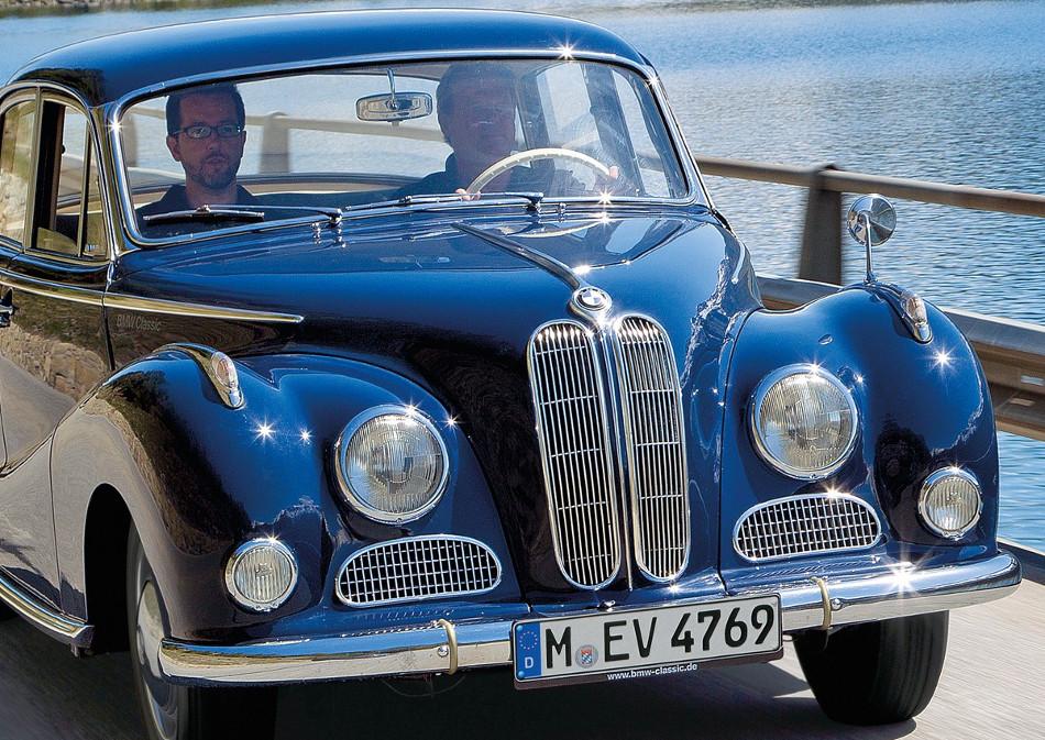 El clásico BMW 501 de 1952 y sus derivados