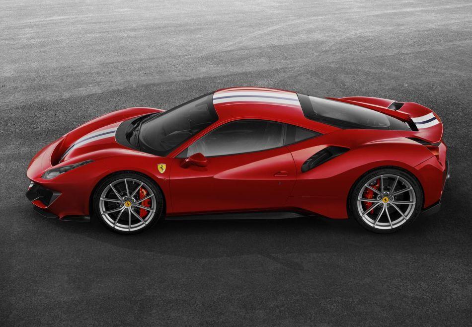 El nuevo y emocionante Ferrari 488 pista