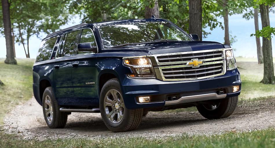 Nueva Suburban 2018 de Chevrolet