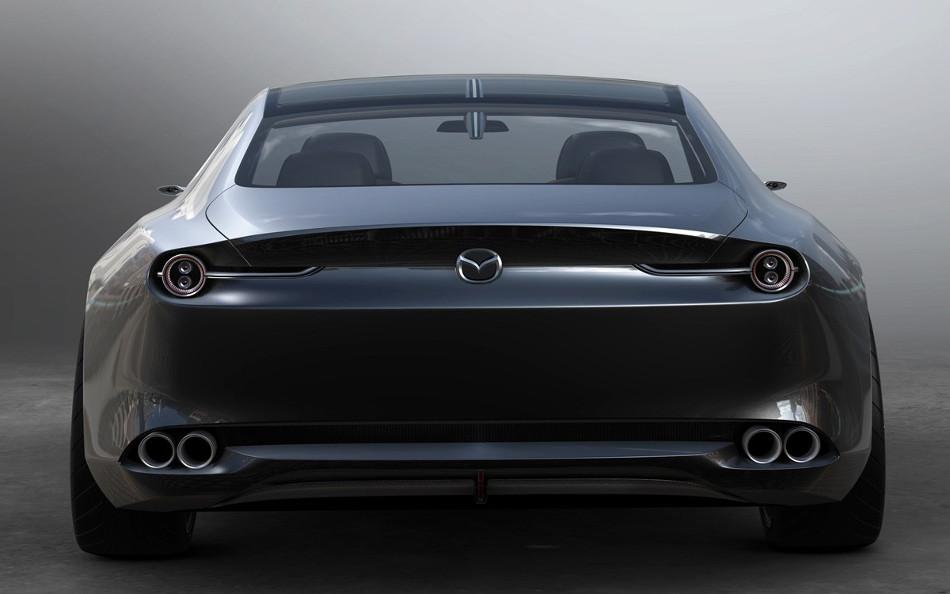 El Mazda Visión Coupe, el Coche conceptual más bello del año en Francia