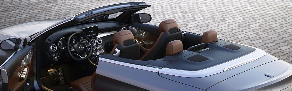 Mercedes C Cabrio 2018, un hermoso convertible