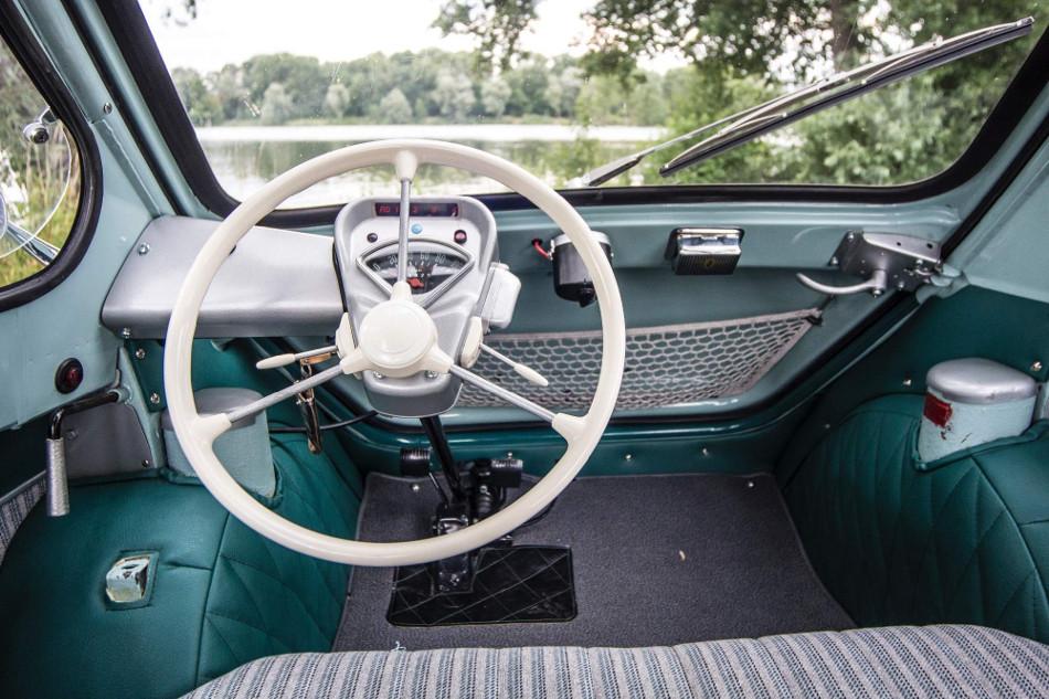 El Zundapp Janus 1957-1958, único que se construyó