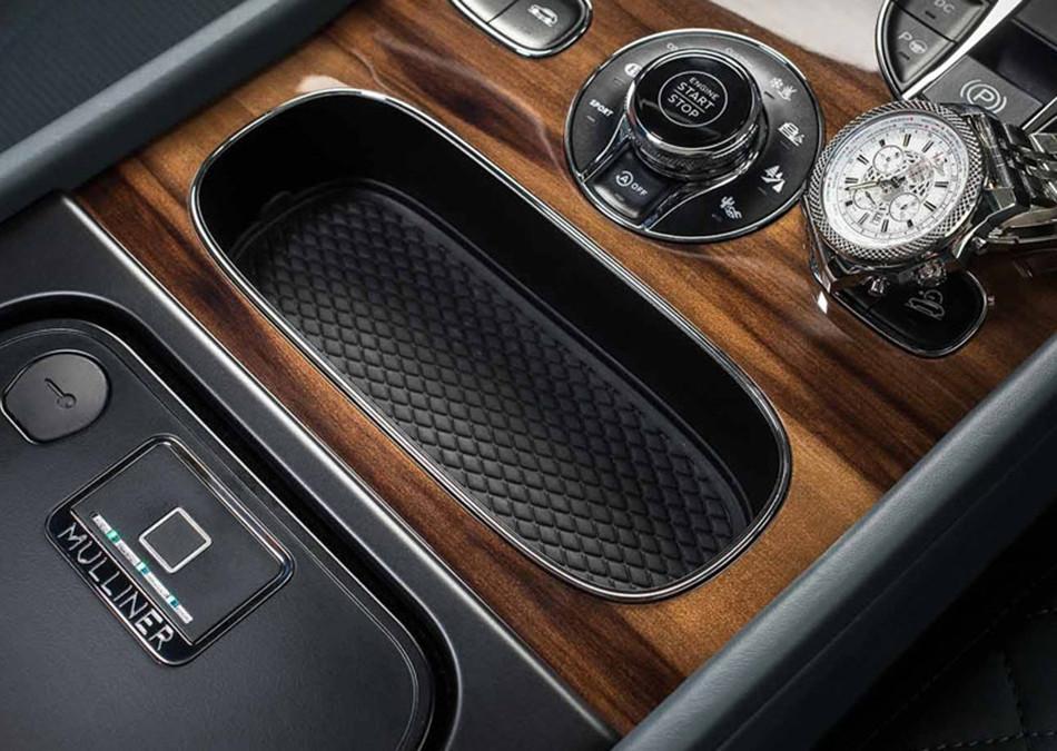 Conoce la caja fuerte que ofrece el Bentley Bentayga 2018