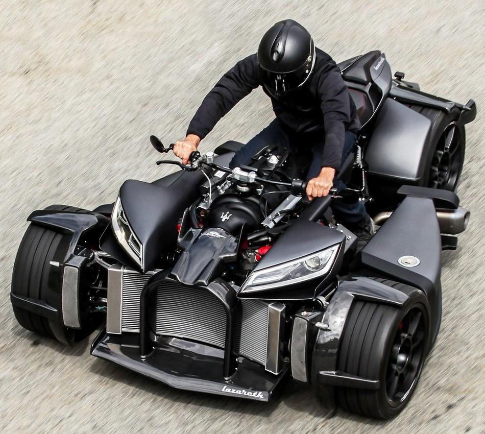Nuevo Equad del francés Ludovic Lazareth, el Wazuma V8M
