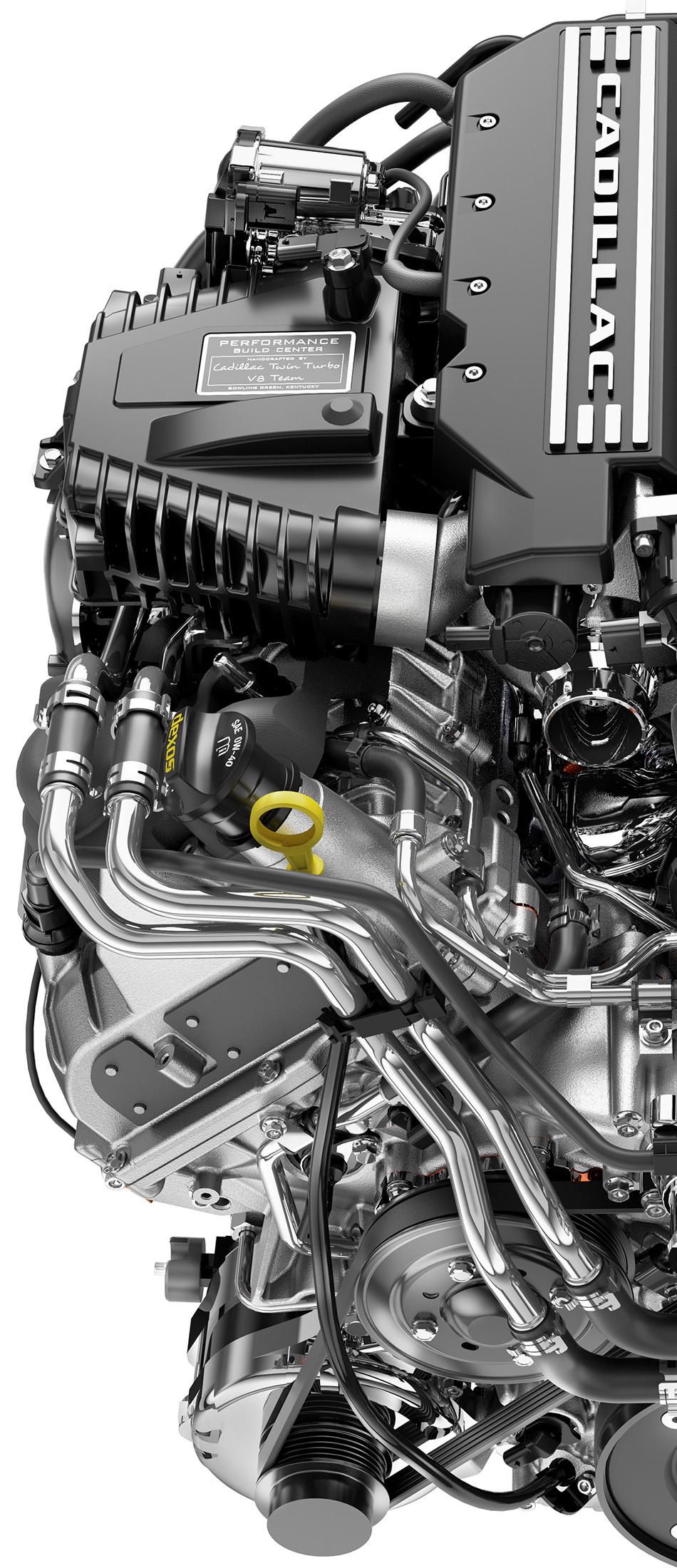 El V8 twin-turbo es el nuevo motor para el Cadillac CT6 2019