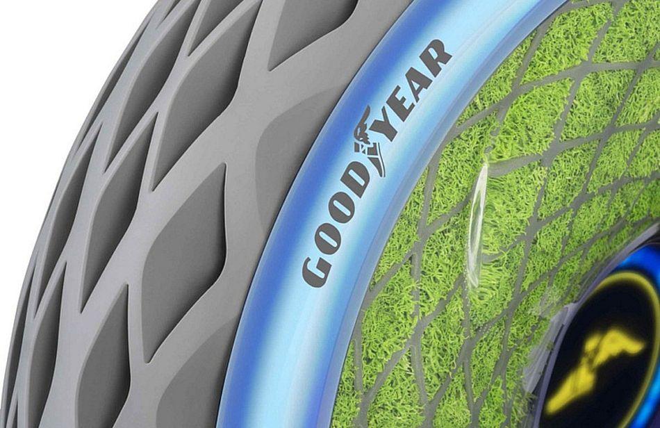 El nuevo neumático inteligente de Goodyear