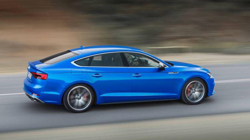El nuevo Audi RS5 Sportback se presenta con 450 CV de potencia