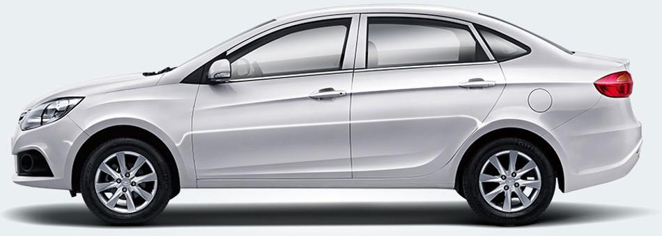 La fábrica automotriz China JAC Motors presenta el JAC J4 2018