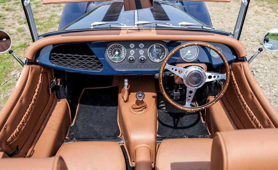 El nuevo Morgan 4X4 2018, cuerpo clásico e interior actual