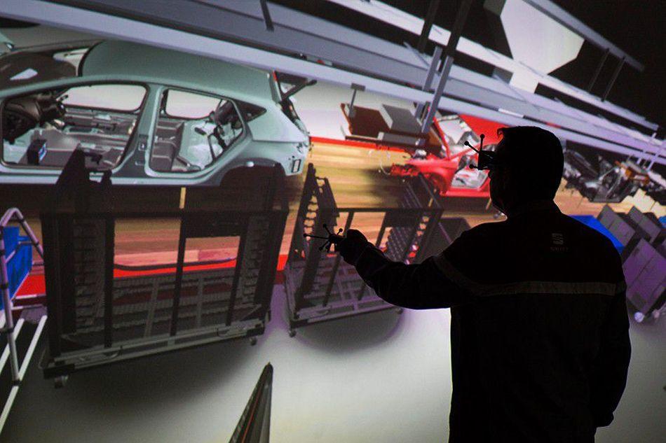 Seat y la nueva industria de realidad virtual 4.0
