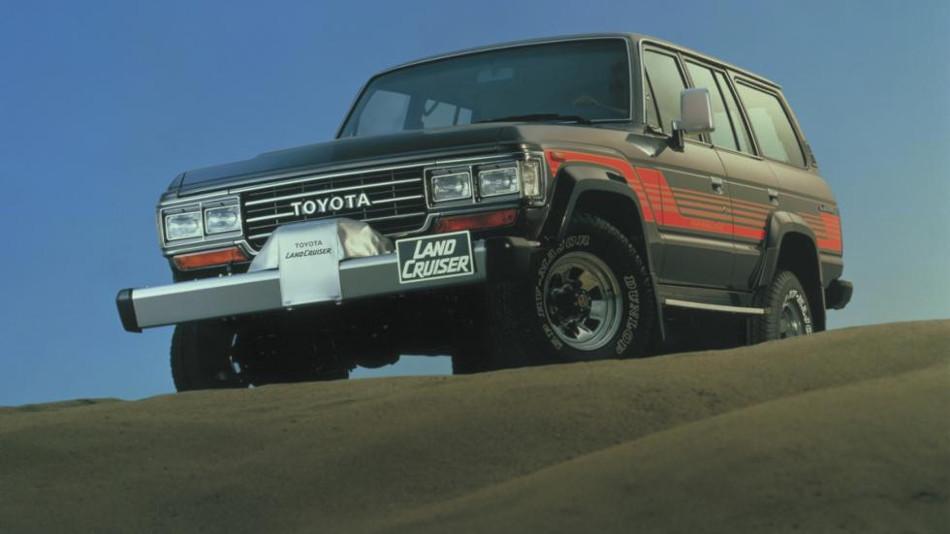 Los recorridos del Toyota Land Cruiser j60