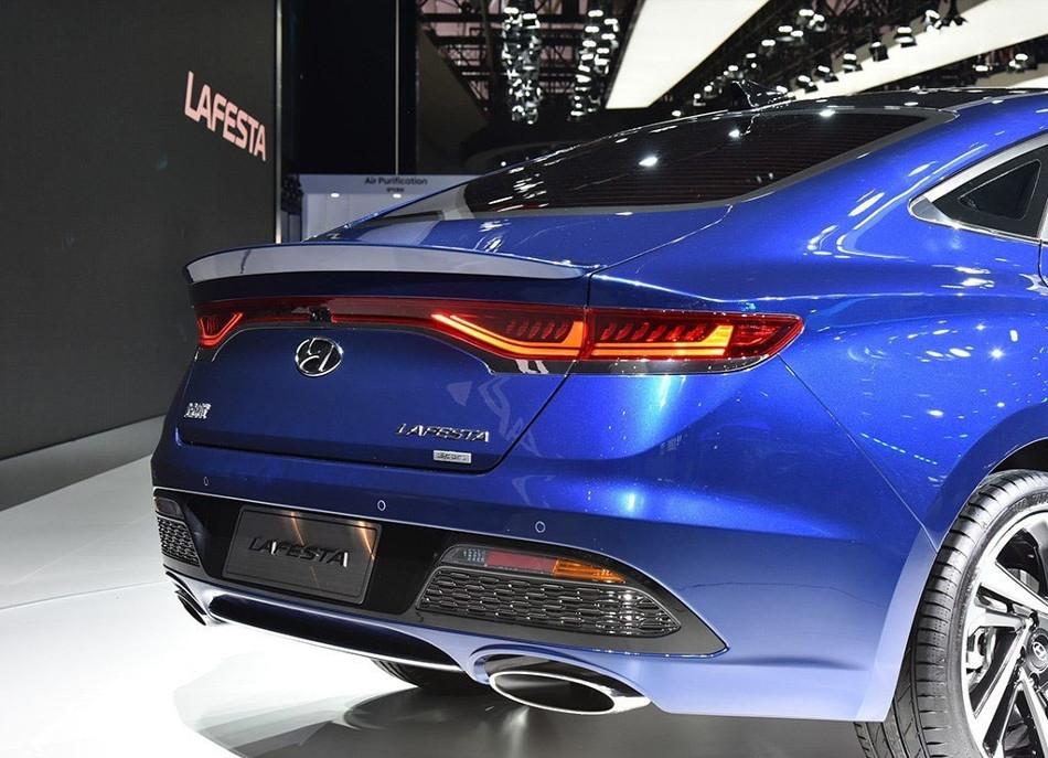 Ya salió a la luz el nuevo Hyundai Lafesta 2019