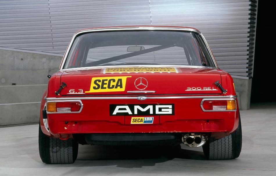 Mercedes AMG 300 SEL, un ícono del automovilismo mundial