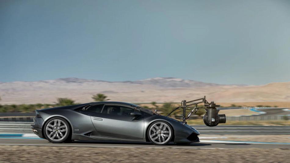 Conoce el Lamborghini de filmación más veloz