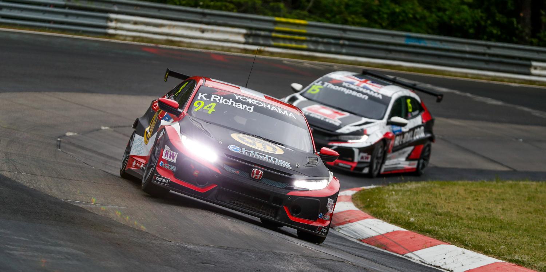 Repaso a los 'Wildcard' del WTCR 2018 en el Nürburgring Nordschleife