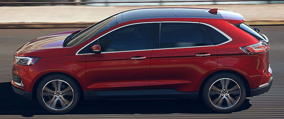 El nuevo Ford Edge Titanium 2019 presenta un renovado aspecto en versión SUV