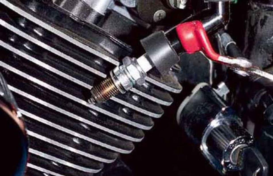 Partes y piezas fundamentales del motor de una moto