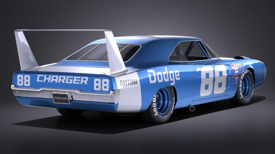 El Dodge Charger Daytona 1969