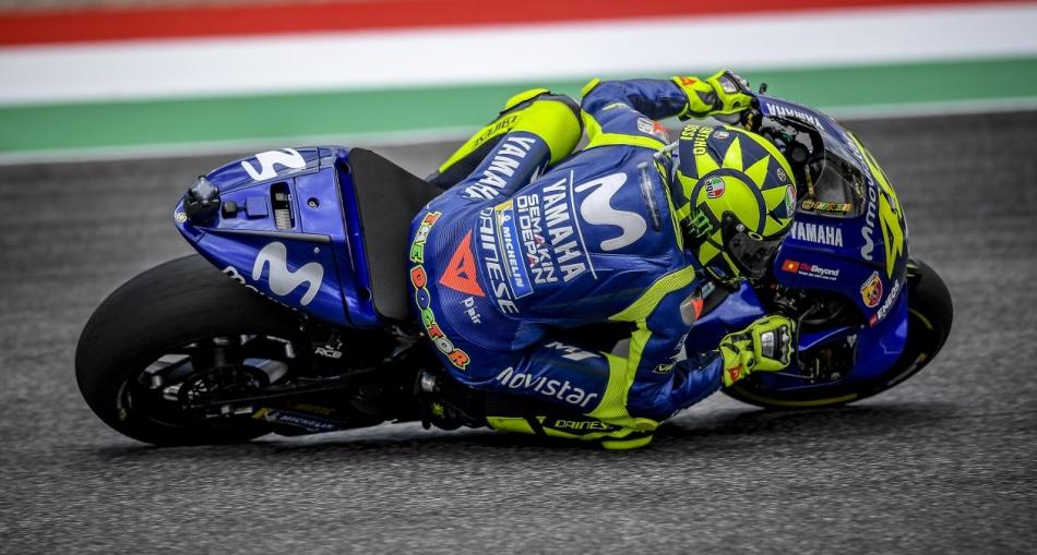 """Valentino Rossi: """"Mi ritmo es bastante bueno"""""""