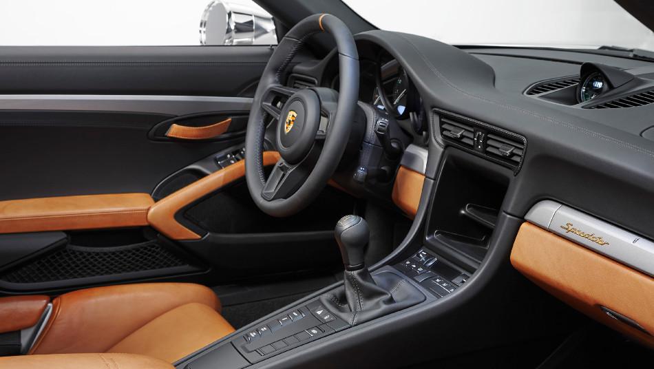 Porsche 911 Speedster Concept en celebración de sus 70 años