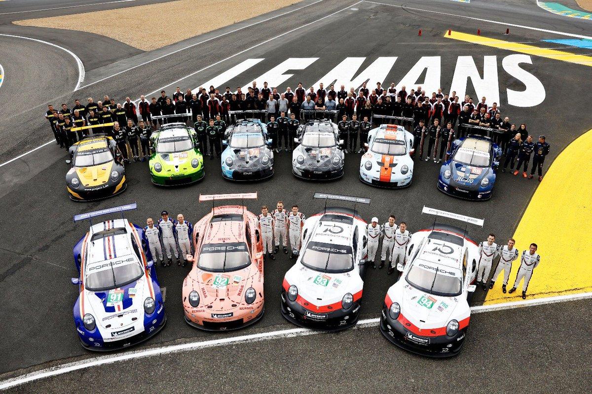 Todos preparados para la fiesta del fin de semana en Le Mans