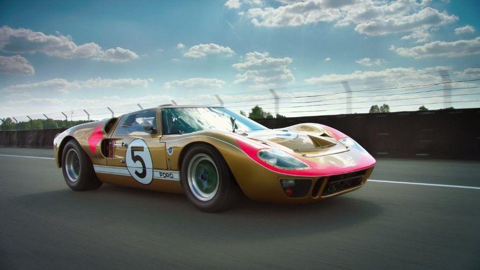 Se subasta un famoso Ford GT40 que terminó tercero en Le Mans 1966