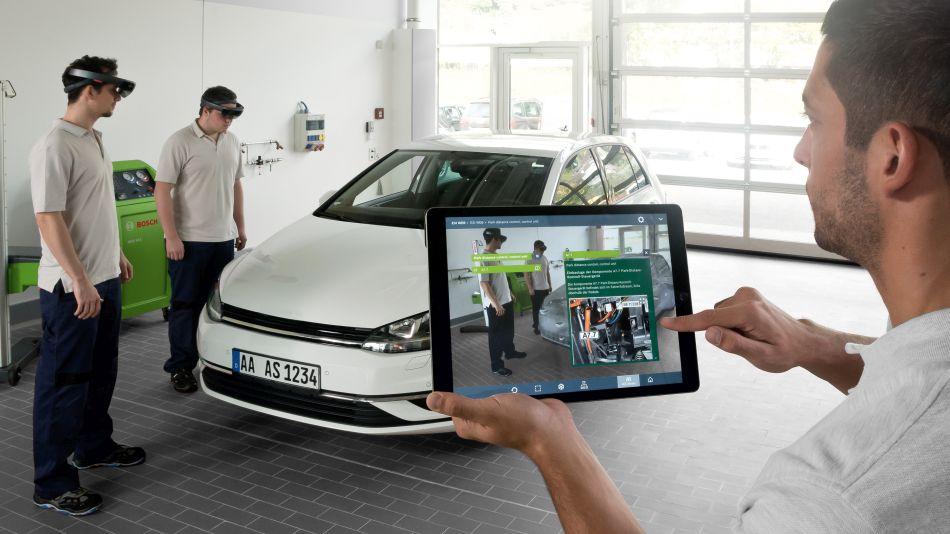 Talleres del futuro con inteligencia artificial y realidad aumentada