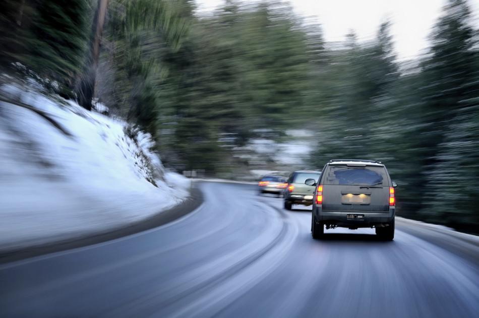 Guarde la distancia al conducir