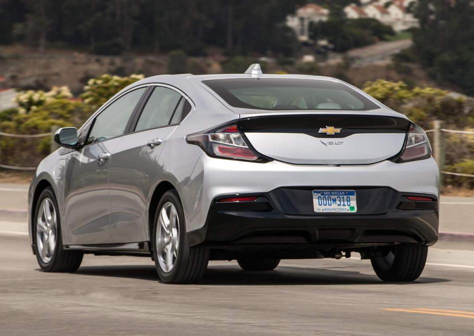 Ya dejaron ver el nuevo Chevrolet Volt 2019
