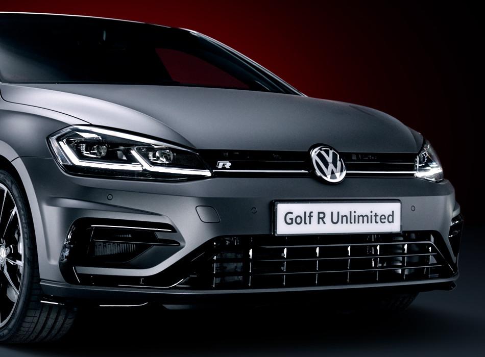 El Volkswagen Golf R Unlimited se dio a conocer