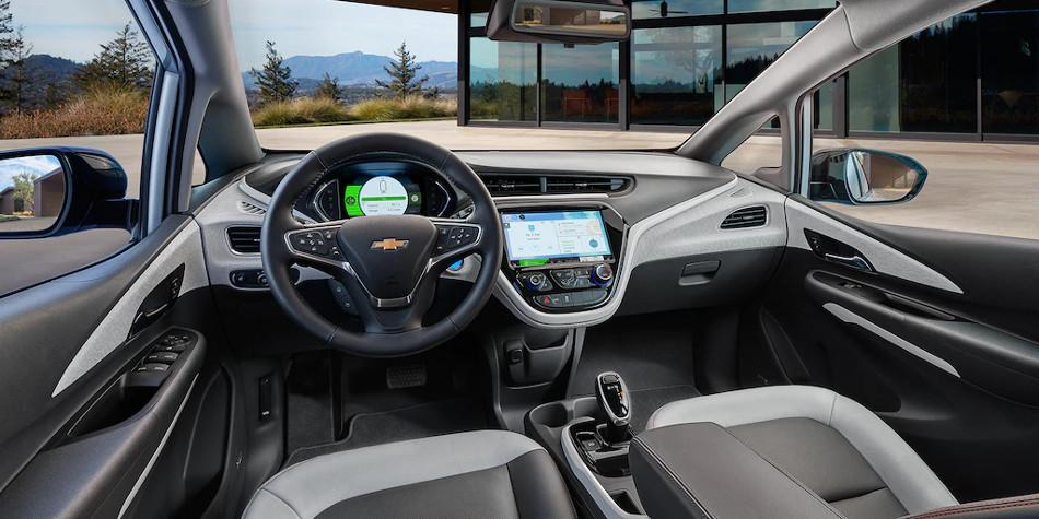 El eléctrico Chevrolet Bolt EV 2018 y sus mieles tecnológicas